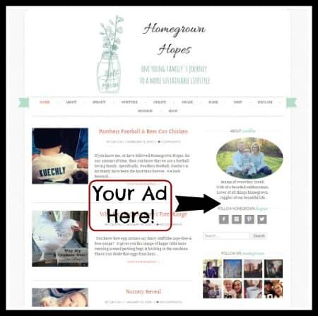 Sidebar Ad infographic