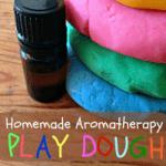 Homemade Aromatherapy Play Dough
