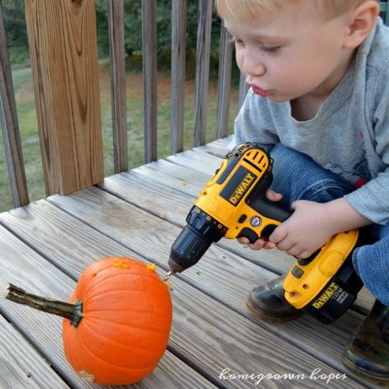 pumpkin-carving-drilling