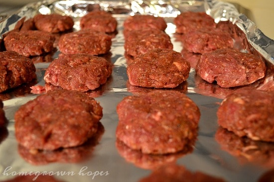venison-sausage-patties